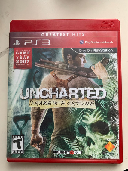 Jogo Para Videogame Uncharted Drake´s Fortune Ps3 Seminovo