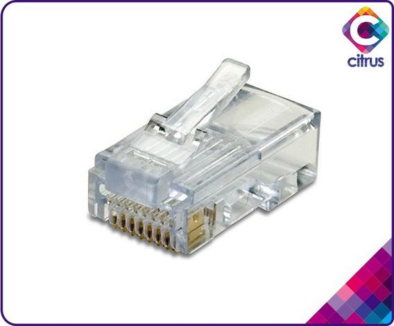 Conector Rj45 Cat5e Gio Por Caja 100 Unidades