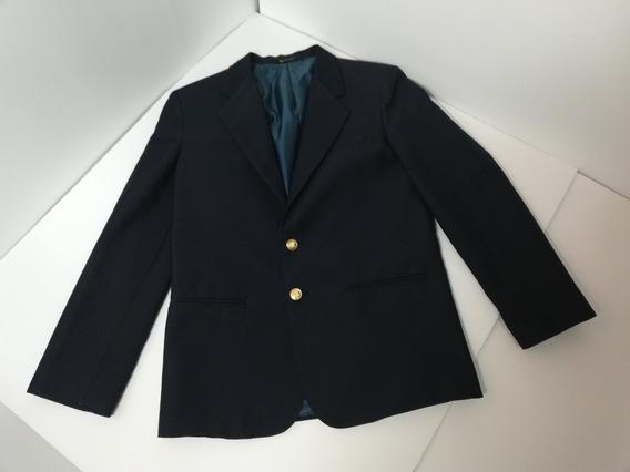 Sacó Blazer Para Joven 14 Regular Azul Marino