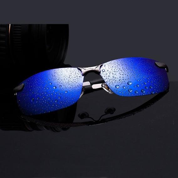 Óculos De Sol Masculino Esporte Polarizado Lentes Espelhado