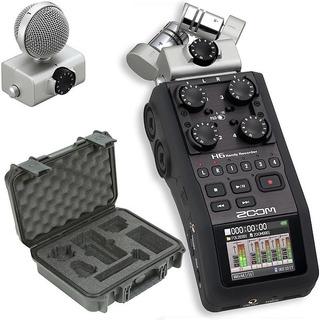 Zoom H6 Grabador Digital Portatil De 6 Canales, Garantia