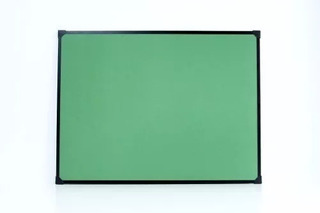 Pizarron Tiza Verde 120x300cm Ideal Colegios Aulas Marco Met