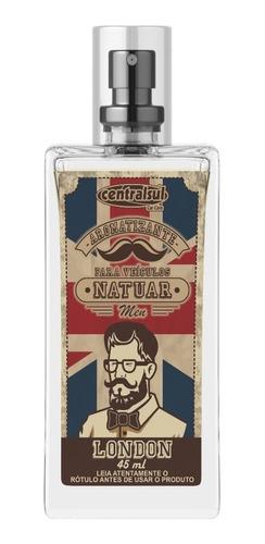 Imagen 1 de 2 de Perfumador Para Auto Natuar Men London Centralsul
