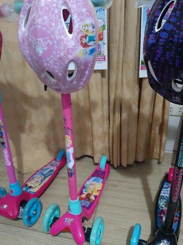 Escoter De Minnie Frozen,barbie,spiderman