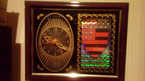 Relógio De Parede Do Glorioso Flamengo - Raridade