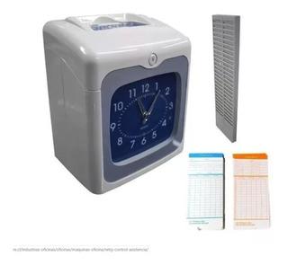 Reloj Control De Acceso Y Asistencia + Tarjetero + Tarjetas