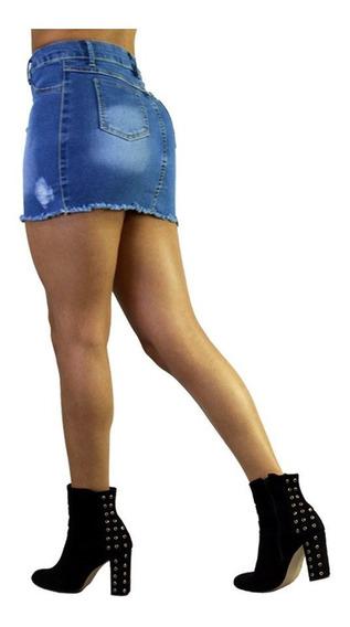 Faldas De Mezclilla Cortas Sexys Mujer De Moda 1 /j