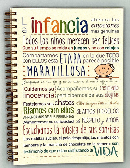 Eco Cuaderno Escolar Tapa Blanda - Fundación Garrahan - E