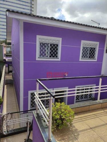 Sobrado Com 3 Dormitórios À Venda, 225 M² Por R$ 1.032.000,00 - Jardim Santa Francisca - Guarulhos/sp - So0393