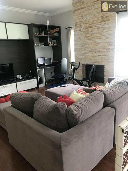 Casa Para Locação E Venda - Real Park - 4 Suítes - 380m² - Mogi - V725