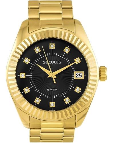 Relógio Feminino Seculus 13019lpsvds7