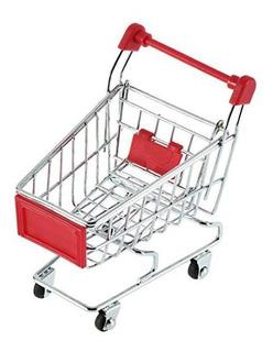 Vktech Mini Carrito De Compras Supermercado Carretilla De Ma