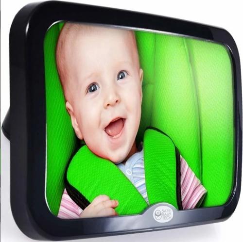 Imagen 1 de 7 de Espejo Retrovisor Para Bebe Safe Baby-tech- Carro