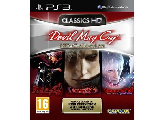 Ps3 - Devil Mycry Hd Collection - Envio Agora!!