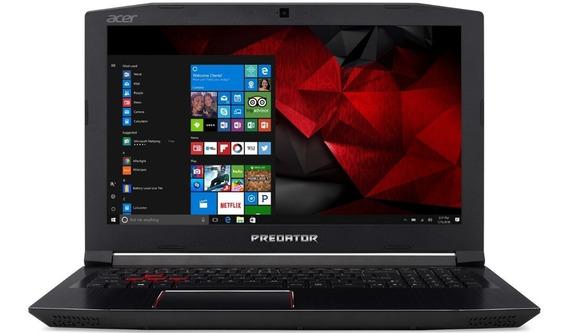 Promoção! Acer Predator - 750gb Ssd/ 24gb Ddr4 Vídeo Gtx1060