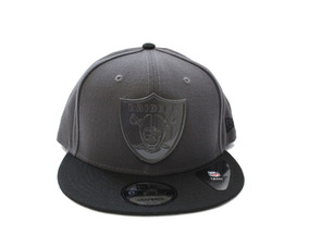 Gorra New Era, Logo Metalizado Raiders, 9fifty Snapback