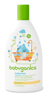 Babyganics - Bubble Bath Fragrance Free 20 Oz.