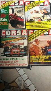 Colección Revista Corsa Decada Del 80