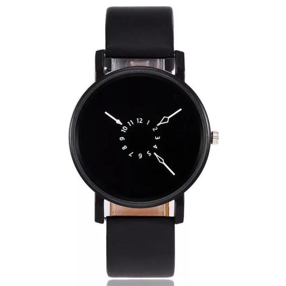 Relógio Quartz Original Feminino Luxo Moda Couro