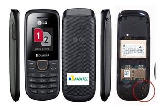 Celular Lg A275 Raro, Nacional Anatel, 2chip, Entrada Antena, Lanterna, Rádio, Simples E Prático, Desbloqueado, 2g, Raro