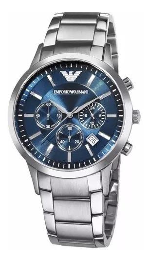 Relógio Pa0576 Emporio Armani Ar2448 Original 43mm + Caixa