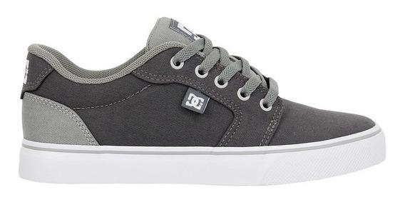 Tênis Dc Shoes Anvil Tx La Light Grey