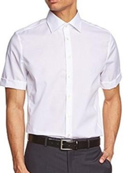 Camisa Van Heusen Talle 2xl Blanca Corta