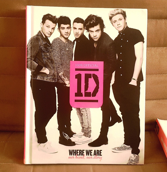 Livro One Direction 1d Where We Are 100% Official Capa Dura