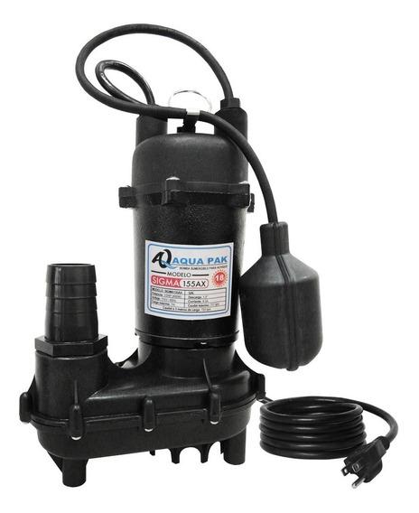 Bomba Sumergible Para Achique Sigma250a Aqua Pak 115v