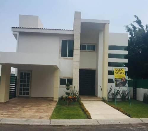 Venta De Casa Nueva En Fracc. Lomas De Cocoyoc $5,500.000