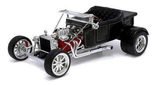 1923 Ford T-bucket Preto - Escala 1:18 - Yat Ming