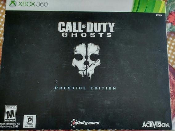 Call Of Duty Ghosts Prestige Edition Xbox 360 S/jogo