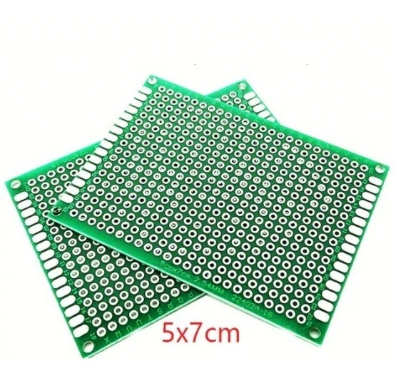 Pcb Placa Experimental Doble Faz 5x7cm 18x24