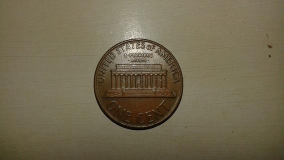 Moeda Americana Antiga - One Cent - 1976 - Para Colecionador