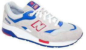 Tenis New Balance 1600 Azul Vermelho Tamanho 42 Usado 2vezes
