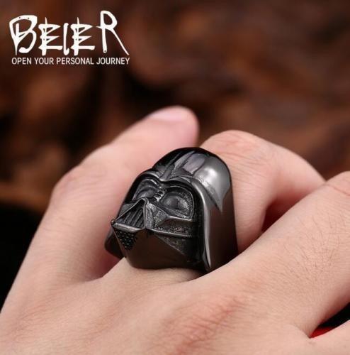 Anillo Darth Vader Negro