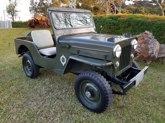 Jeep Willys Cj-3b - 1954 - 4x4 - Excelente