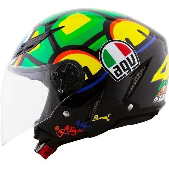 Capacete Agv Blade Turtle Valentino Rossi Vr46 Original