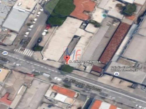 Imagem 1 de 1 de Ref 7891 - Terreno 608 M² Zon. Zm  Com Estacionamento Para 50 Vagas - Cambuci. - 7891