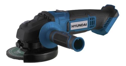 Amoladora Angular Bateria Hyundai 115mm 20v Hycag20 Solo Hta