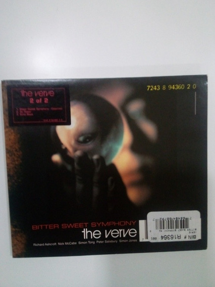 Cd Single The Verve - Bitter Sweet Symphony