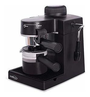 Maquina De Espresso Y Capuchino Premium Pem350, Negra
