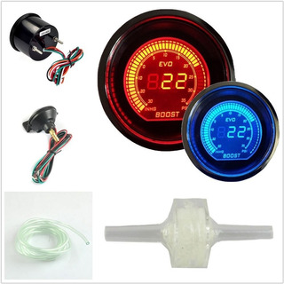 Relojes Simil Prosport Wideband Ratio Air Fuel Boost Turbo