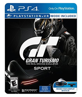 Video Juego Gran Turismo Sport Limited Edition Playstation 4