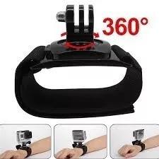 Suporte Alça 360° Mão Pulso Gopro Go Pro Hero 3+ 4 5 Sjcam