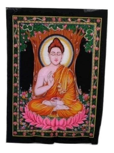 Tela Indiana Decoração Buda Budismo