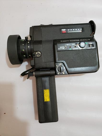 Filmadora Antiga Super 8 Canon 514 Xl-s + Lente E Bolsa