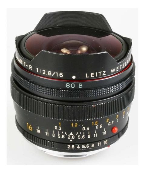 Objetiva Leica Elmarit-r 16mm Fisheye F2.8