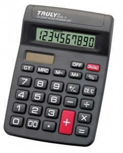 Calculadora De Mesa Truly 806b-10 - 10 Dígitos