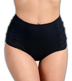 Hot Pants Biquíni Retro Cintura Alta Calcinha